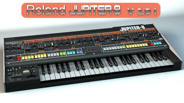 Roland Jupiter-8 V2 3D model by staiff