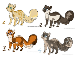 Collab adopts: Cats REDUCED! by xX-SayuriAdopts-Xx