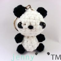 Panda Bear by jennybeartm