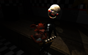 MMD FNAF - Hush little foxy dont you cry... by InvaderBlitzwing