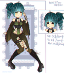 GOTH ADOPTABLE AUCTION (closed): by Momo-Moe