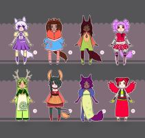 Adopts 01 (OPEN) Points or Paypal by Essuom