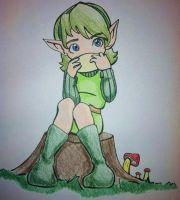 Saria by eggsnyost