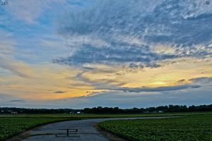 Airport Sunset HDR by Veritas-Aequitas-90
