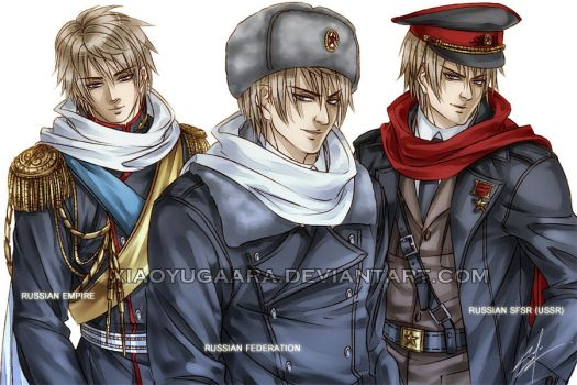 APH: that Russian guy by xiaoyugaara