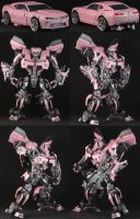 Custom Pink Bumblebee by Solrac333