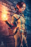 Dahlia Thomas Triss Merigold Witcher 2 by Dahlia-Thomas