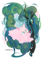 fluffle 'n Chryssi by starrypon