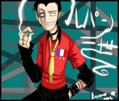 Lupin: That Boy Needs Therapy. by Lascaux