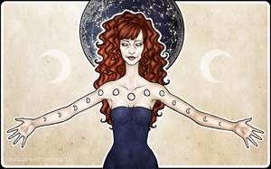 Rowena ~ Moon Phases by fromthatedge