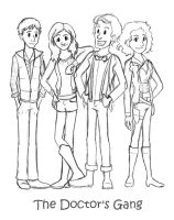 The Doctor's Gang by MusicalFire