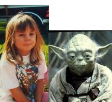 Comparison- Baby me --- Yoda by Siiahh