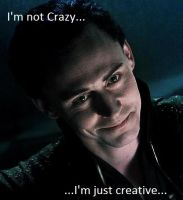 Loki I'm not crazy by RedReaperRaven