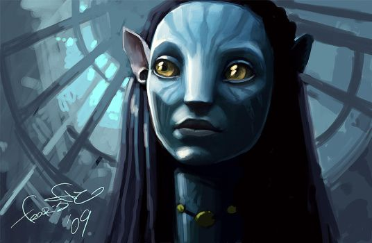 Avatar - Speed Painting by fear-sAs