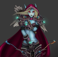 Sylvanas Windrunner by ChickenMeLovesYou