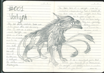 Bestiary- Vorlyph by CaitlinJHunter