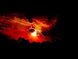 Blood-drenched Sky by HIMish