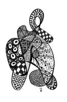 Zentangle Nr1 by DozyDog