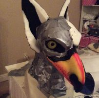 Toucan Griffin Head WIp by Yamishizen