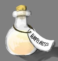 Bottled Happiness by telephonehome