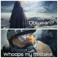 Star Wars/Halo Meme by Turbofurby