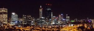 My City at Night by JessicaNarelle