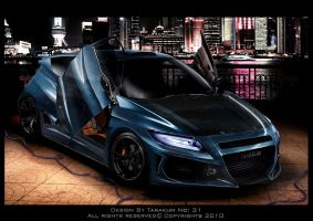 Honda CR-Z Virtual Tuning by TarakuM