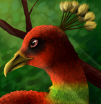 Realistic Ho-oh by KittyIsAWolf