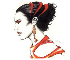 Padame Queen Amidala by 6nailbomb9