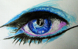Watercolour Eye by Ptolemie