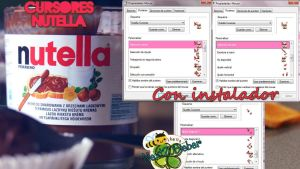 Cursores Nutella by Cursorsandmore