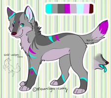 custom for YukiAlecCross28 by gold-adopts