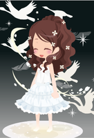 DreamSelfy Free Adopts: Angelic white girl(closed) by SeitoAnna