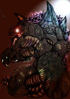 The_KING_of_Monsters_by_MikeDastardly by Xeno-Crazy
