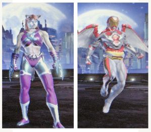DCUO secondary characters