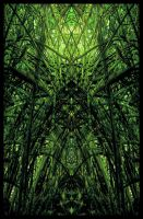 green cathedral by feldrand