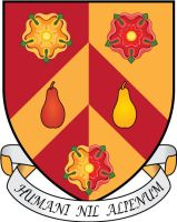 Wolfson College Oxford Coat of Arms by ChevronTango