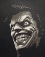 Joker - The Clown Prince of Crime by Papergizmo