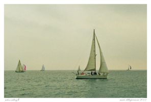Action Sailing II by MarioDellagiovanna