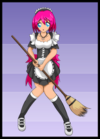 Maid for the contest by Ironcid