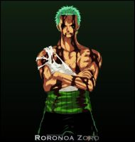 One Piece Roronoa Zoro 4 by Adonis90