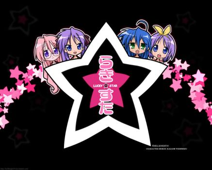 Lucky Star Wallpaper by Hellknight10