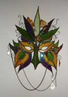 Stained Glass Mask by HiddenYume-stock