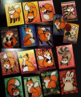 StupidFox Cards by SilentReaper