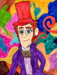 Hans as Willy Wonka by SonicClone