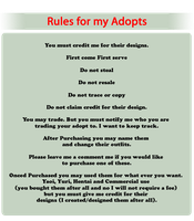 Rules for my Adopts by Kanedas-Adopts