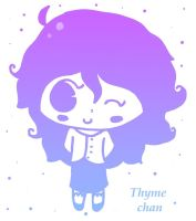 Thyme chan by Madam-Milano
