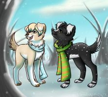 Snow for my Nini by Silversparx