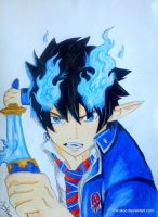 Blue Exorcist by Mirukoo