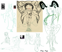 Homestuck sketch dump by Miss-Kiyo